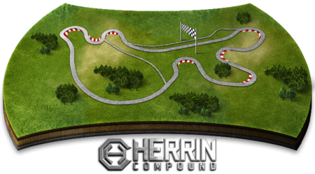 herrin compound track map